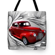 Party Time Red Tote Bag