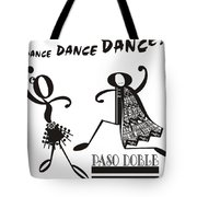 Paso Doble Tote Bag