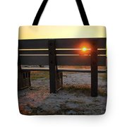 Pass-a-grille Glow Tote Bag
