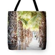 Pass Of Palms Tote Bag