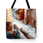 Pass Tote Bag