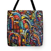 Passage Tote Bag by Chaline Ouellet