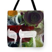 Passages 2- Abstract Art By Linda Woods Tote Bag