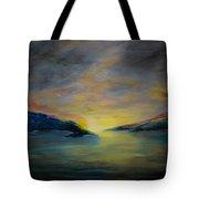 Passageway Sunrise Tote Bag