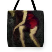 Passed Out Tote Bag