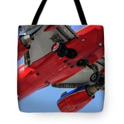 Passenger Jet Coming In For Landing 10 Tote Bag
