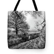Passenger Train Travel Tote Bag
