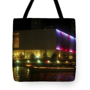 Passing Boat Tote Bag