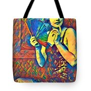 Passing Glance  Tote Bag