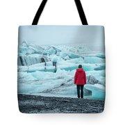 Passing Icebergs  Tote Bag