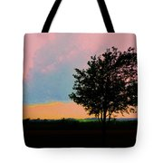 Passing Storm Clouds Tote Bag