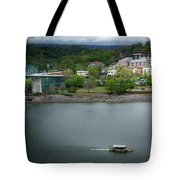 Passing Storm In Chattanooga Tote Bag