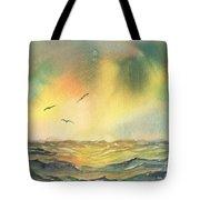 Passing Storm Tote Bag