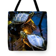 Passing The Day With A Friend Tote Bag
