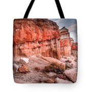 Passing Time At Red Rock Tote Bag