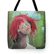 Passion Tote Bag by Becky Kim