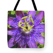 Passion Flower 2 Tote Bag