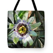 Passion Flower Close-up Tote Bag