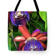 Passion Flower Ver. 12 Tote Bag