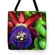 Passion Flower Ver. 17 Tote Bag