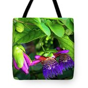 Passion Flower Ver. 18 Tote Bag
