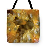 Passion Fruit In A Cut Tote Bag