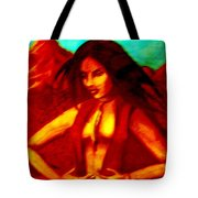 Passion In The Desert Tote Bag