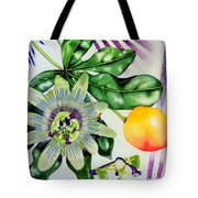 Passion In The Tropics Tote Bag