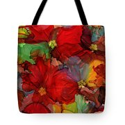 Passion Of Flowers Tote Bag
