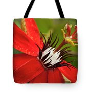 Passionate Flower Tote Bag