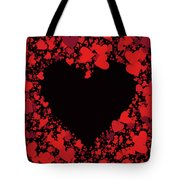 Passionate Love Heart Tote Bag