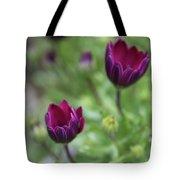 Passionate Purple Tote Bag