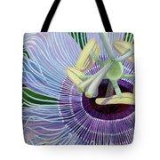 Passionflower Vine Tote Bag