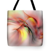 Passions Flame Tote Bag