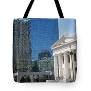 Past And Present Reflections Tote Bag