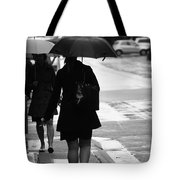 Past Is Near Tote Bag