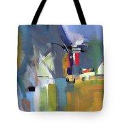 Past The Doorway Tote Bag by John Jr Gholson