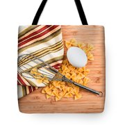 Pasta Egg And Whisk Tote Bag