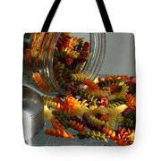 Pasta Spillage Tote Bag by Robert Frederick