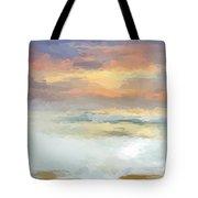 Pastel Beach Mornning Tote Bag