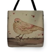 Pastel Bird Tote Bag