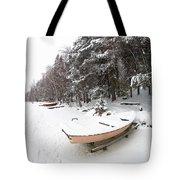 Pastel Boat Tote Bag