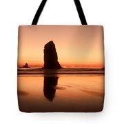 Pastel Evening On The Oregon Coast Tote Bag