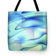 Pastel Flow Tote Bag