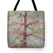 Pastel Forest Tote Bag by Nadine Rippelmeyer
