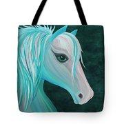 Pastel Horse Tote Bag