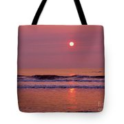 Pastel  Pink Sunrise Tote Bag