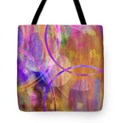 Pastel Planets Tote Bag