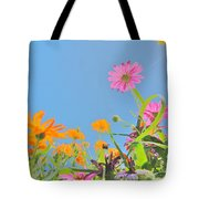 Pastel Poppies Tote Bag