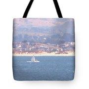 Pastel Sail Tote Bag by Pharris Art